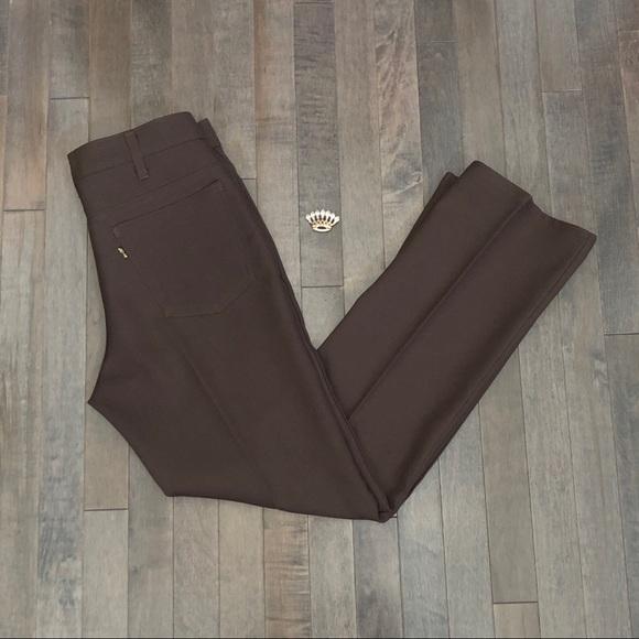 Levi's Pants - Groovy Vintage 70's Levi's brown Polyester Pants!